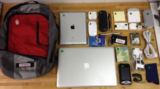 Bag of cords and adaptors